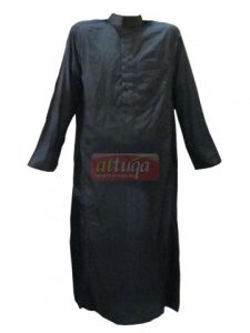 jubah-saudi-al-haramain-hitam-salur