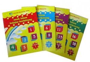 Buku Berhitung Untuk Anak TK Jilid 1 2 3 4