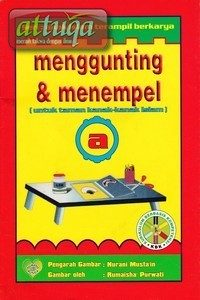 Buku Menggunting dan Menempel Untuk Anak TK