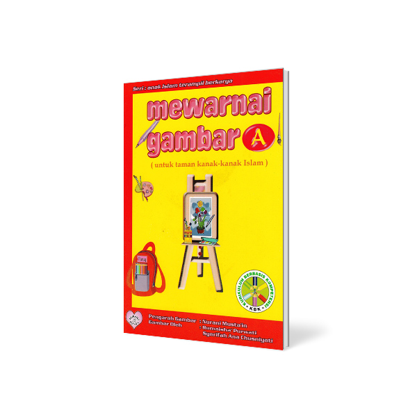Buku Mewarnai Gambar Untuk Anak Tk Seri A Toko Buku Islam Mushaf Buku Anak Kitab Jubah Herbal